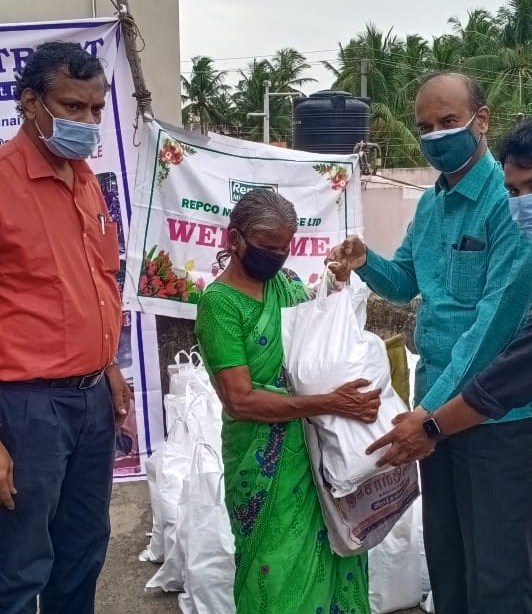 Provided essential commodities for visually impaired persons
