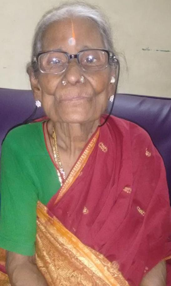 Rukmani Paatti of age 102 passed away