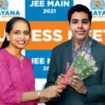 Narayana School student tops in JEE Mains Result